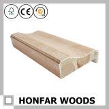 Moldura de moldura de porta de madeira de carvalho para decoração de casa
