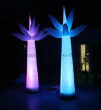 Cono inflable ligero de la decoración LED/luz inflable del cono LED de la decoración para el partido