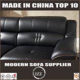Sofá de couro redondo ocasional do sofá do estilo da mobília 123 de Lizz