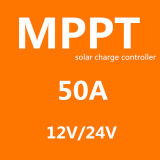 Regulador 5A 10A 15A 30A 50A 45A 60A 70A de la carga del sistema casero 12V 24V MPPT del panel solar