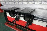Máquina de dobra da placa de Nanjing Jinqiu, máquina de dobra hidráulica do CNC