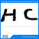 Fibra de vidrio el 25% de la poliamida PA66 para los plásticos sin procesar