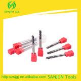 ferramentas padrão longas dos cortadores de trituração do CNC do moinho de extremidade do comprimento da lâmina de 6mm para o CNC