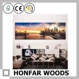 Blocco per grafici di legno della foto di arte di stampa per la decorazione della parete