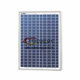 el panel solar polivinílico de la eficacia alta 20W para la lámpara del césped