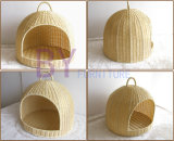 Hot Sale Hand-Weaving PE Rattan Doghouse Pet Waterloo