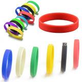 Wristband colorido Eco-Friendly do bracelete do silicone