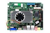 Placa madre de los accesos del LAN de DDR3 J1900 2 con 6 COM, 2GB/4GB a bordo