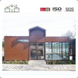 Villa moderne préfabriquée amicale de bâti en acier d'Eco