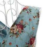 Designer One Piece Vintage Linen Dress 1950s Mulheres Tamanho Plus