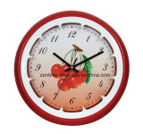 Various Healthy Fruit Home Decoration Round Wall Clock
