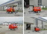 Torre clara móvel de Genlitecpower 4000watts com o gerador do diesel de Kubota
