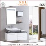 Cabinet de salle de bain à peinture nouvelle avec miroir