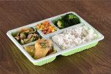 5개의 격실 뚜껑 (600ml)를 가진 플라스틱 초밥 쟁반