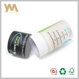 Tubo de papel de encargo para el alimento