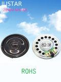 28mm*4mm 8ohm Spreker 0.25-1W Mylar met RoHS