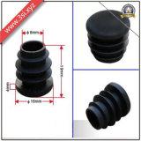 Fiche ronde en plastique noire de vis pour l'étagère (YZF-H311)