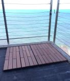 плитки Decking 300*300mm Ipe напольные