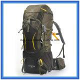 최신 판매 70L 큰 수용량 Mountaineering 책가방, 옥외 하이킹 책가방, 다기능 관례 상승 야영 책가방