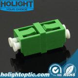 LC APC de Optische Adapter Duplex Groene Sm van de Vezel
