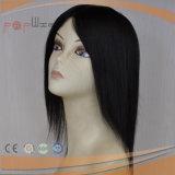 Parte dianteira cheia do laço da relação superior do cabelo humano da classe toda a peruca das mulheres de Handtied (PPG-l-0837)