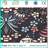 Großhandels-FDY 300d kationische Polyester-Blatt-und Blumen-Druck-Gewebe