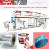 Maquinaria de alta velocidade da laminação da película do PVC da série de Qdf