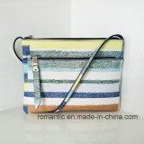 簡単なPU方法女性ハンドバッグの女性の学生かばん袋(NMDK-041306)