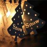 معدن [كريستمس تر] ساحر خيط ضوء أبيض دافئ لأنّ عيد ميلاد المسيح