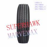 Aller Stahlschlauchlose Schlussteil-LKW-radialgummireifen 11r24.5