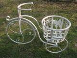 Support de bac de planteur de bicyclette en métal