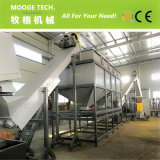 überschüssige Plastikaufbereitenmaschine mit 1000 kg-/hpet pp. Film-Beuteln