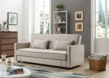 Nueva base de sofá de la tela del asiento de amor del diseño para la sala de estar casera (HC131)