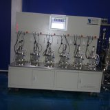 Verbindungsstück sechs 2 Liter des Glasbioreaktor-(Double-walled Glasumhüllungenwelle)