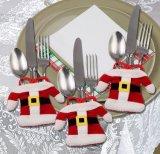 عيد ميلاد المسيح استولى على زخرفة لأنّ بيتيّة [سلفرور] حامل [سنتا] عشاء سكّين شوكة حامل [سنتا] كلاوس عيد ميلاد المسيح حلية
