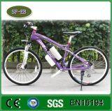 motor sin cepillo del eje de la diversión del sistema 250W 8 del PAS de 36V 10A bici eléctrica de 26 pulgadas