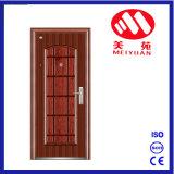 インドの主要な金属のドアの機密保護の鋼鉄外部ドアデザイン