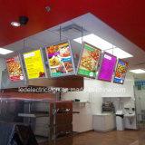 La publicité du cadre d'éclairage LED pour des prix de kiosque avec le panneau-réclame annonçant des prix