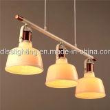 Einfache Art-weiße hängende Glaslampen für Hauptbeleuchtung
