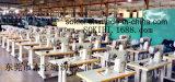Máquina de costura industrial computarizada da sapata de couro pesada do Lockstitch da alimentação do rolo