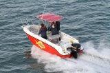 小さい6mのスポーツのモーターボートのステンレス鋼のフェアリーダー、ガラス繊維のモーターボート