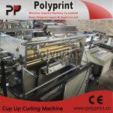 Máquina de ondulação da borda descartável do bordo do copo de chá do leite (PP-120)