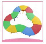 Multi Use Flower Shape Plastic Table Mesinha de jardim de infância com muitas cores