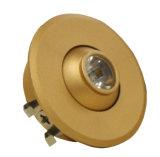 아래로 1W 상업적인 조명 LED 가벼운 초점 반점 빛