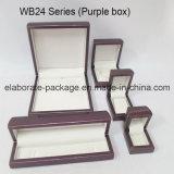 Заключенная контракт оптовая продажа коробки роскошных деревянных ювелирных изделий типа установленная
