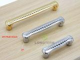 上10ベストセラーの96mmの金は金属の固体引出しのキャビネットのハンドルをめっきした