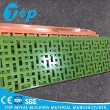 壁の装飾のためのセリウムPVDFのCNCによって切り分けられるアルミニウム固体パネル