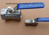 Шариковый клапан нержавеющей стали 1PC с внутренне резьбой