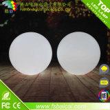 Material del PE 16 colores que cambian la bola ligera impermeable del LED