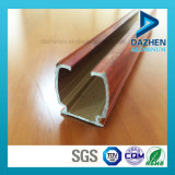 Het Profiel van de Uitdrijving van het aluminium voor het Profiel van het Spoor van het Gordijn met de Verschillende Kleuren van de Grootte